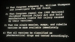 Vaxxed action items